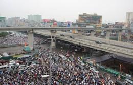 Công điện chống ùn tắc giao thông tại Hà Nội và TP.HCM