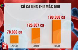 Tỷ lệ ung thư ở Việt Nam tăng chóng mặt