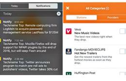 Notify - Ứng dụng cập nhật tin tức mới của Facebook