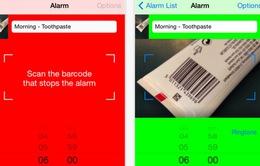 """Barcode Alarm Clock – Bảo bối cho người hay """"ngủ nướng"""""""
