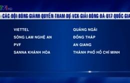 8 đội tuyển giành quyền vào VCK Cúp Thái Sơn Nam 2015