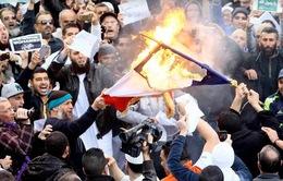 Biểu tình phản đối tạp chí Charlie Hebdo ở Nga và Niger