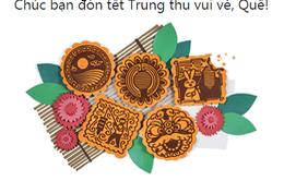 Google và Facebook chúc Tết Trung thu người dùng Việt