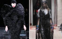 Những bộ trang phục ám ảnh trên sàn diễn thời trang thế giới