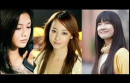 So tài sắc Nhã Phương với hai nữ chính phim 'Khúc hát mặt trời' phiên bản Nhật