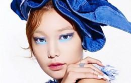 Xu hướng trang điểm cho đôi mắt theo tông màu xanh dương