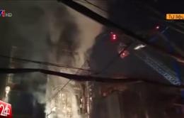 Phần lớn cháy nổ xảy ra ở TP.HCM là do chập điện
