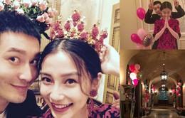 Angelababy đón sinh nhật bên Huỳnh Hiểu Minh