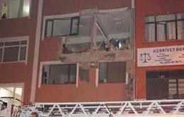 Thổ Nhĩ Kỳ:Bom nổ tại tòa báo, 1 người thiệt mạng