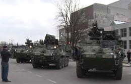 Mỹ tiến hành diễn tập quân sự tại Estonia