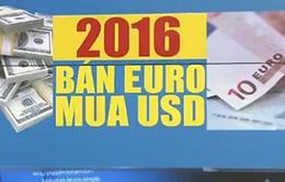 Xu hướng mới trong năm 2016: Bán Euro mua USD