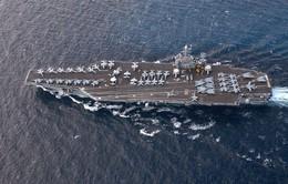 Mỹ điều tàu sân bay tới Trung Đông hỗ trợ chiến dịch chống khủng bố