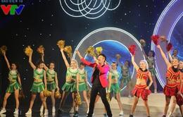Minh Quân, Mỹ Dung khuấy động Gala trao giải V.League 2015