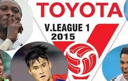 Lịch thi đấu và tường thuật vòng 4 V.League 2015: Đại chiến Hải Phòng – HAGL