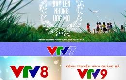 VTV phát sóng 3 kênh quảng bá mới từ 01/01/2016