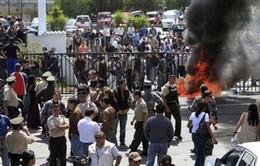 Peru: Cảnh sát đụng độ người biểu tình, 1 người thiệt mạng