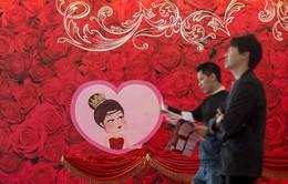 Không khí Valentine ngập tràn trên thế giới