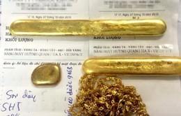 Hàng loạt tiệm kinh doanh vàng bị lừa mua vàng giả