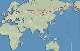"""Nga công bố dự án đường siêu cao tốc """"Vành đai phát triển Âu - Á"""""""