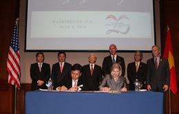 Tổng Bí thư dự lễ ký kết hợp tác Việt Nam - Hoa Kỳ