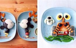 Sáng tạo nghệ thuật trang trí món ăn