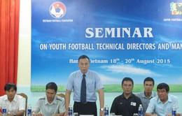 Bóng đá Việt Nam học hỏi kinh nghiệm quản lý từ chuyên gia Nhật