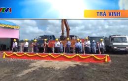 Trà Vinh khởi công Hệ thống xử lý nước thải nhà máy mía đường