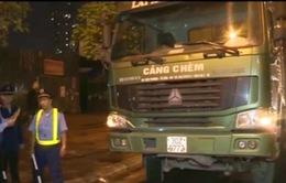 Hà Nội: Kiểm tra đột xuất, 100% xe vi phạm tải trọng
