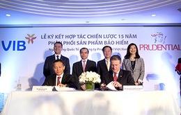 VIB - Prudential Việt Nam ký kết thỏa thuận hợp tác bảo hiểm