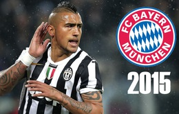 Chuyển nhượng 21/7: Vidal đã là người của Bayern Munich