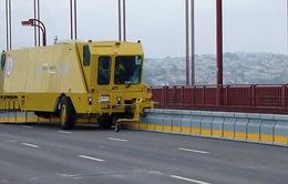 Zipper Truck - Xe dịch chuyển dải phân cách di động