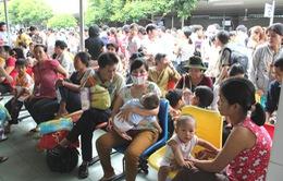 TP.HCM: Nắng nóng kéo dài, trẻ nhập viện vì viêm não tăng cao