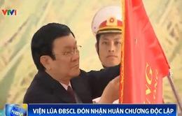 Viện lúa Đồng bằng sông Cửu Long đón nhận Huân chương Độc lập