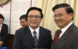 Tăng cường hợp tác Việt - Lào