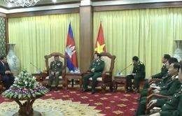 Việt Nam - Campuchia tăng cường hợp tác quốc phòng