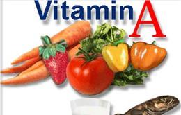 Tỷ lệ trẻ em Việt Nam thiếu vitamin A không đổi suốt 20 năm