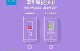 Vivo X6 sẽ được trang bị tính năng sạc kép