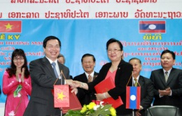 Hiệp định thương mại mới thể hiện mối quan hệ đặc biệt Việt Nam - Lào