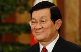 Chủ tịch nước Trương Tấn Sang hội kiến nguyên Tổng thống Indonesia