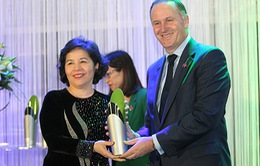 Tổng Giám đốc Vinamilk nhận giải thưởng New Zealand - ASEAN