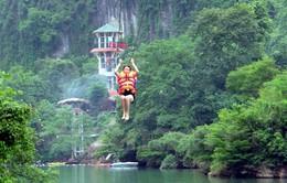 Hệ thống đu dây tự do Sông Chày - Hang Tối lập kỷ lục dài nhất Việt Nam
