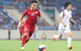 Phi Sơn trở lại luyện tập trước ngày tuyển Việt Nam chạm trán Iraq
