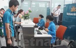 Hành khách Vietnam Airlines có thể lấy thẻ lên tàu bay qua thiết bị di động