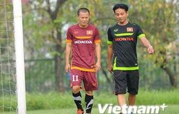 Thành Lương bị đau ở buổi tập đầu tiên với U23 quốc gia