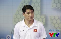 HLV Thái Thanh Tùng: Tuyển nữ Việt Nam thua vì điểm yếu tâm lý