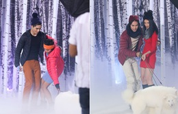 """Thí sinh Vietnam's Next Top Model 2015 """"kết đôi"""" cùng Kha Mỹ Vân, Quang Hùng"""
