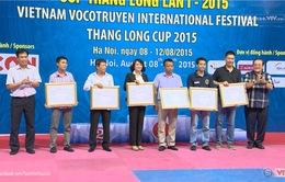 Bế mạc Đại hội quốc tế Võ cổ truyền Việt Nam lần thứ I
