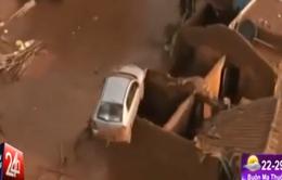 Vỡ đập, ngôi làng 400 người tại Brazil bị cuốn trôi