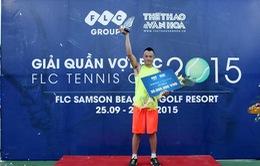 Hoàng Thành Trung giành ngôi vị quán quân Giải FLC Cup 2015
