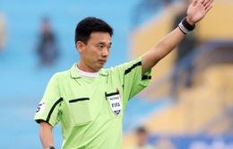 Trọng tài Võ Minh Trí xuất sắc nhất V.League 2015